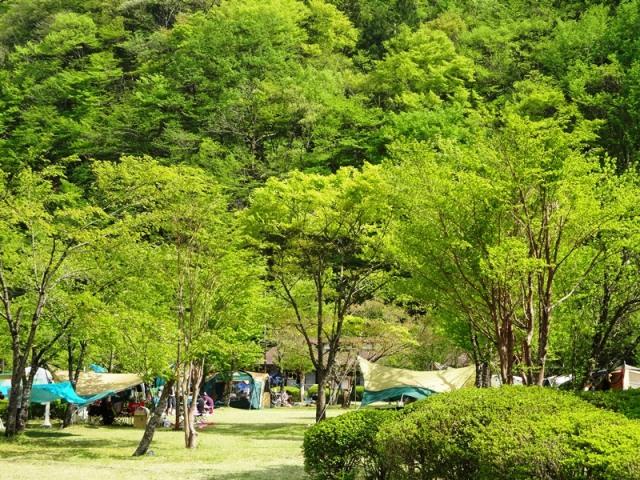 Minami-Alps Ikawa automatic campground