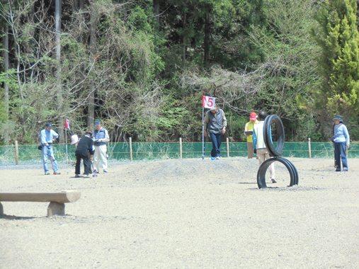 梅ケ島新田温泉黄金の湯グラウンドゴルフ場
