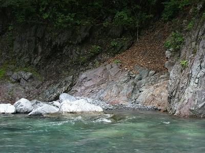 南アルプスジオサイト「木賊堰堤上部ほか」