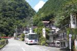 梅ヶ島温泉街