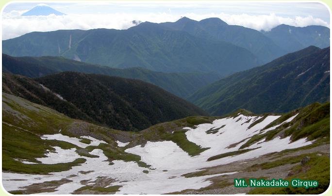 Mt. Naka-dake (nakadake) curl