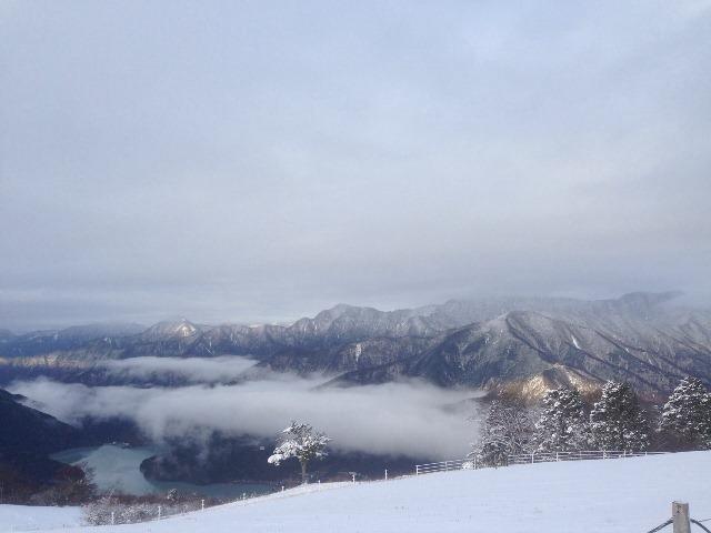 从ribaueru井川滑雪场希望井川湖方面的①20131219-2.jpg