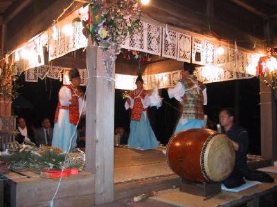 有東木の神楽