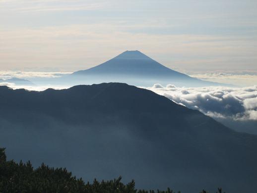 南アルプス(茶臼岳)