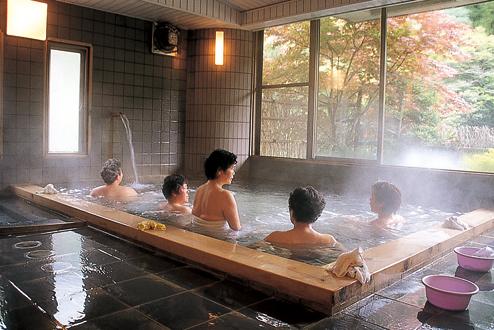 Yunoshima hot spring bathhouse
