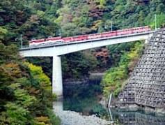 南アルプスあぷとライン(大井川鐵道・井川駅)